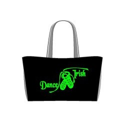 "Tragetasche ""Dance Irish"" Motiv, fluorescent"