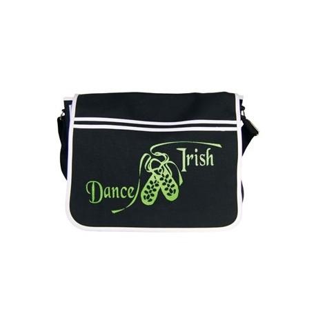 """Schultertasche """"Dance Irish"""" Motiv, funkelnd"""