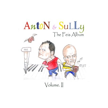 CD The Feis Album Vol II - Anton & Sully