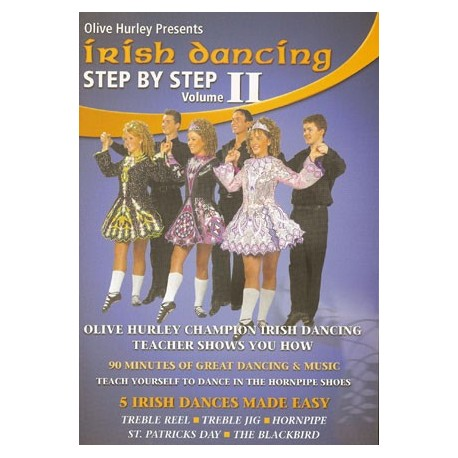 DVD Irish Dancing Step by Step 2 by Olive Hurley