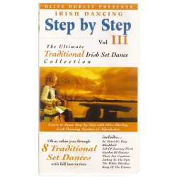 DVD Irish Dancing Step by Step 3 by Olive Hurley