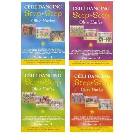DVD Ceili Dancing Step by Step by Olive Hurley