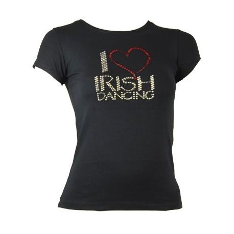"Damen T-Shirt I love .."" Motiv"