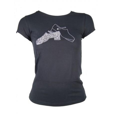 Damen T-Shirt mit Hardshoe´s Motiv