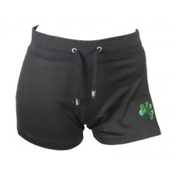 Irish Dancing Shorts mit Kleeblatt Motiv
