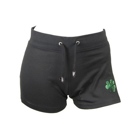 Irish Dancing Shorts mit Kleeblatt Motiv