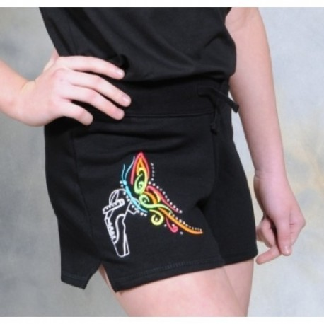 """Irish Dancing Shorts Motiv """"Butterfly Shoe"""""""