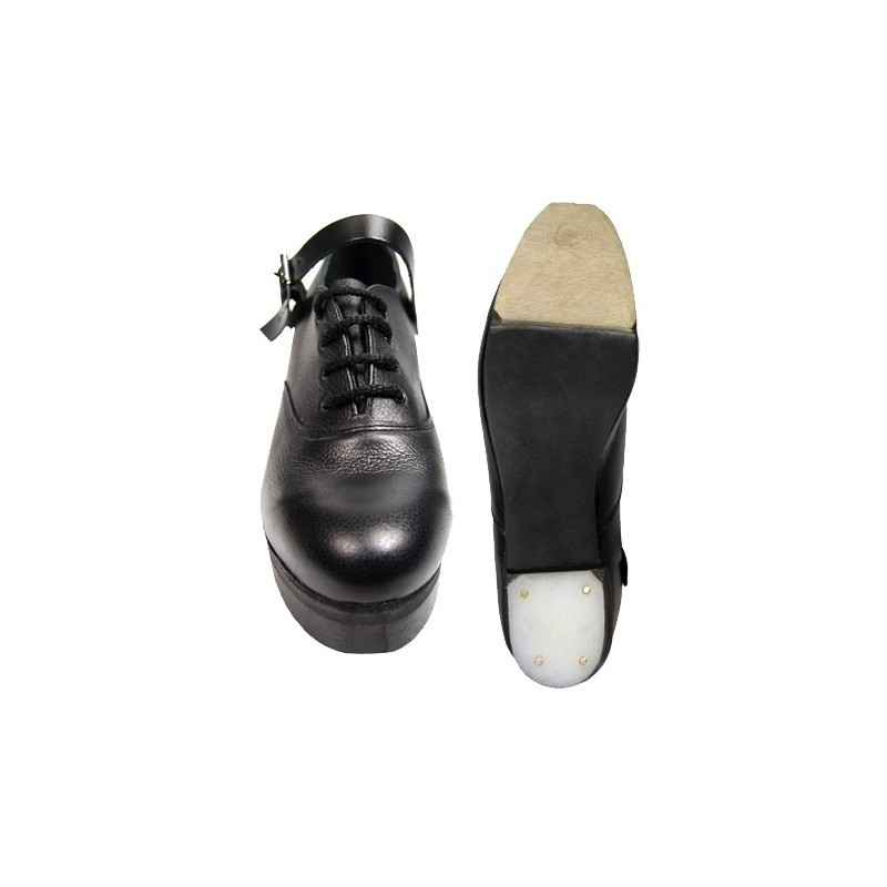 Standard Width Size 10.5 ADULT Antonio Pacelli Superflexi Irish Jig Shoe with Leinster Tip and Heel