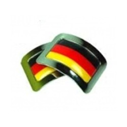 Square Buckles m. Flagge