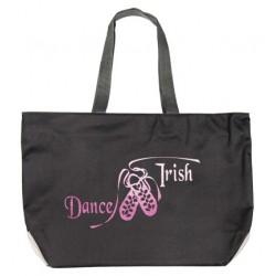 """Tragetasche """"Dance Irish"""" Motiv, funkelnd"""