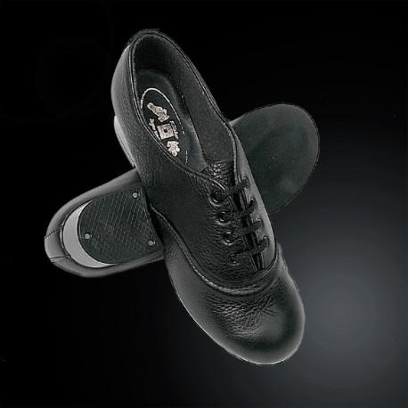 Boyne Walk All Black Boys Reel Shoe