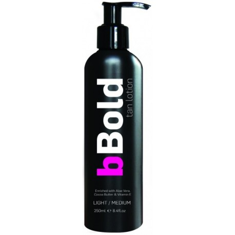 bBold Self Tan Lotion, medium, 250ml