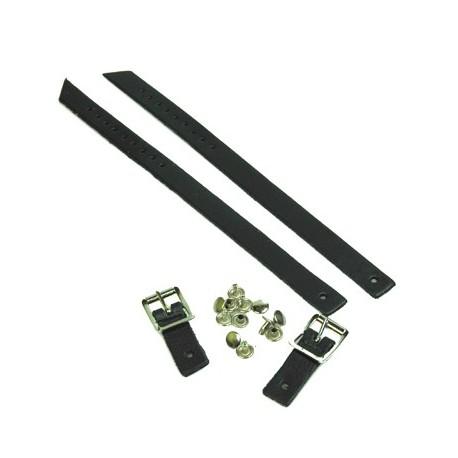 Jig Shoe Strap Replacement Kit - Black