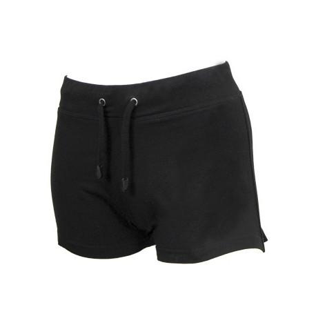 Irish Dancing Shorts ohne Motiv, schwarz