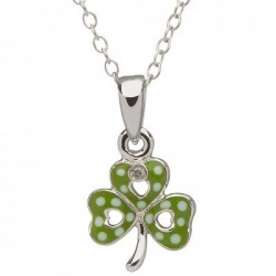 Shamrock Pendant, Little Miss Collection