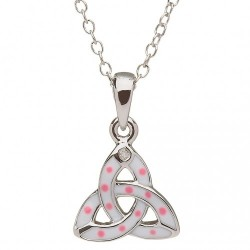 Trinity white Pendant, Little Miss Collection
