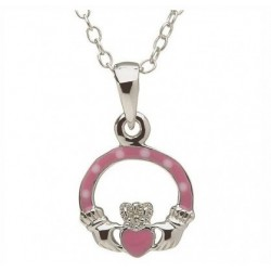 Claddagh Anhänger pink, Little Miss Kollektion