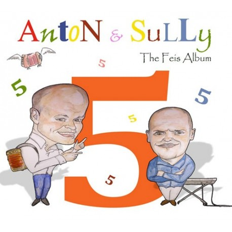 CD The Feis Album Vol 4 - Anton & Sully