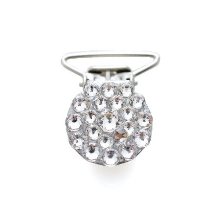 Kristallstein Nummer Clips mit klaren Steinen